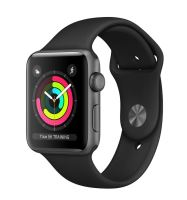 Watch S3, 42mm, Space Gr AC/Black Sport Band