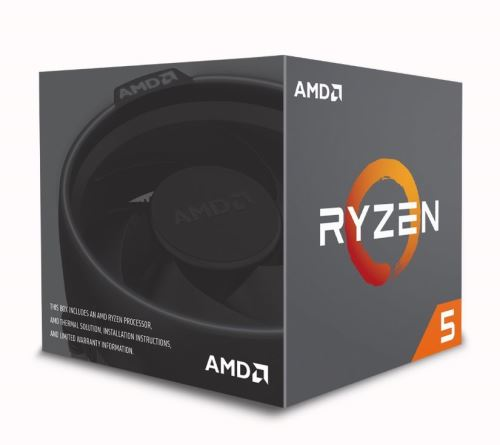CPU AMD Ryzen 5 2600 6core (3,4GHz)