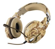 TRUST GXT 322D Carus Gaming Headset - desert camo