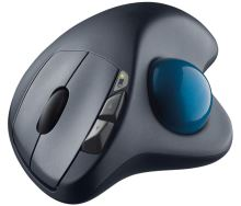 trackball Logitech Wireless M570, USB