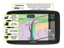 TomTom VIA 62 Europe, LIFETIME mapy