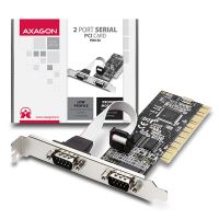 AXAGON PCIA-S2, PCI adapter 2x sériový port + LP