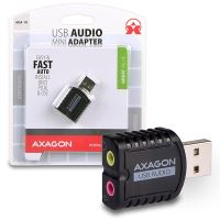 AXAGO USB2.0 - stereo audio MINI adapter