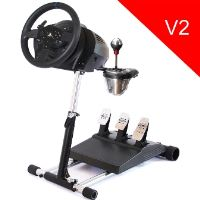 Wheel Stand Pro DELUXE V2, stojan na volant a pedály pro Thrustmaster T300RS, TX, TMX, T15