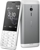 Nokia 230 Single SIM White Silver
