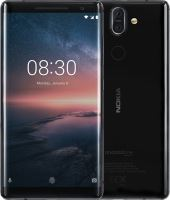 Nokia 8 Sirocco Single SIM Black