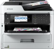 Epson WorkForce Pro WF-C5790DWF,4800x1200dpi,34/34, wifi, USB