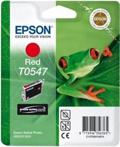 EPSON SP R800 Red Ink Cartridge(T0547)